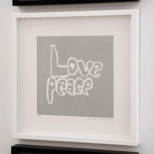 framed-LOVEPEACE
